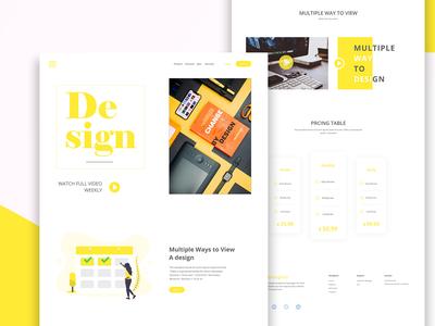 Design - Landing Page