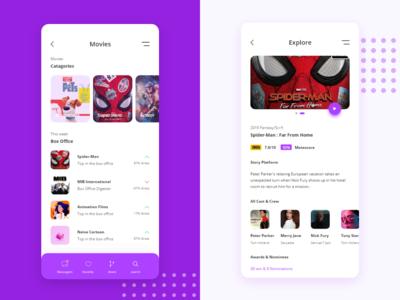 Movies App Ui Design