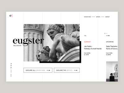 Eugster Gallery Website