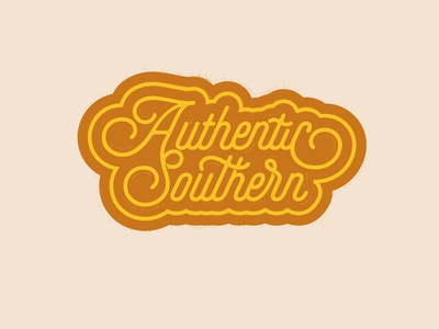 Authentic Southern Script