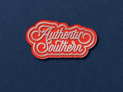 Authentic Southern Enamel Pin