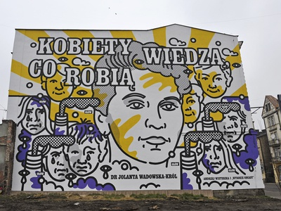MURAL: Women Know What They Do