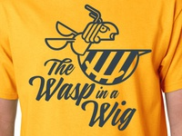 The Wasp in a Wig tee