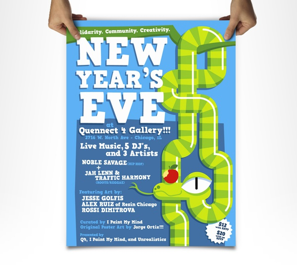 Poster new years eve ok
