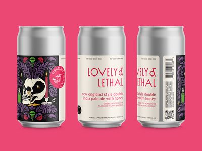 DNEIPA Label Design beer label beer illustration design