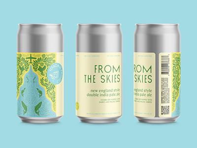 DNEIPA Label Design illustration beer label beer