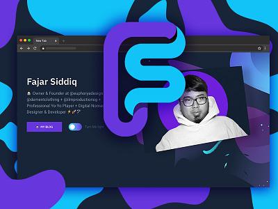 Meta Tag Design for fajarsiddiq.com graphic  design ui  ux design meta tag
