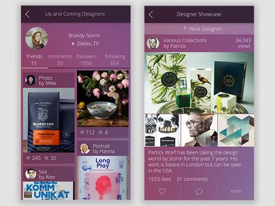 Design Inspiration App Proof of Concept