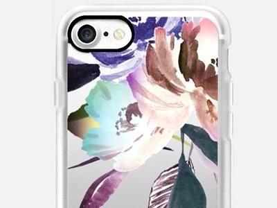For Sale - Purple Floral Case