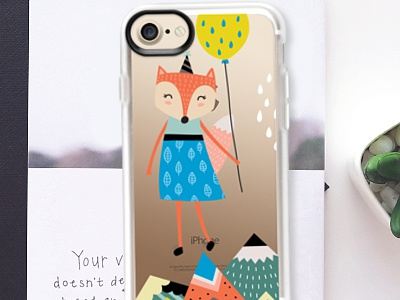 For Sale - Floating Fox iPhone Case