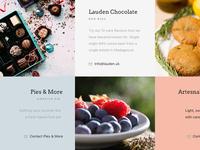 Interactive Dessert Grid