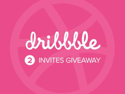 2 Dribbble invites giveaway dribbble invites giveaway