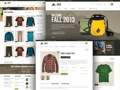 Crux WooCommerce theme woocommerce wordpress themeforest e-commerce woo