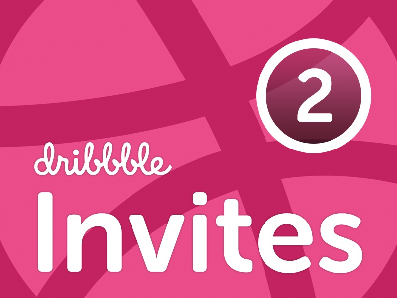 Dribbble Invites invites logo dribbble ui illustration
