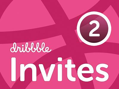 Dribbble Invites invites logo dribbble ui illustration