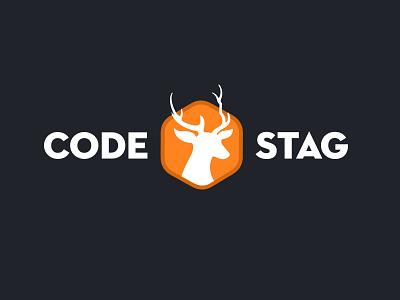 Codestag Logo Concept codestag logo themeshop hexagon