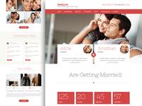 Wedding Theme Homepage