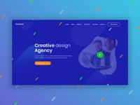 Creative Design Agency - Header
