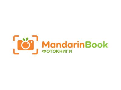 Mandarin Book photos trand sing flat logos logo frut mandarinbook book mandarin photo photobook
