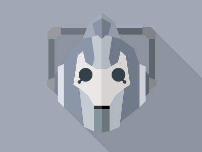 Cyberman Doctor Who By Yuri Krasnoshchok On Dribbble