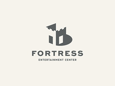Fortress modern checkbox entertainment crown tower architecture building monochrome minimalism fort castle fortress