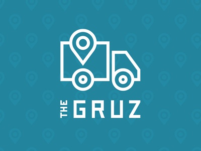 The Gruz courier track products delivery load box car lines gps shipping cargo gruz