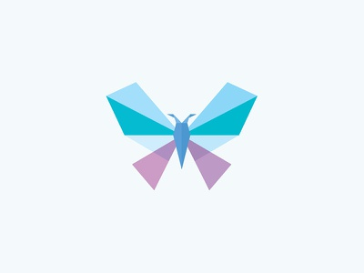 Butterfly illustrations symbol icon stylized sign fly wings logo overlay polygons insect butterfly