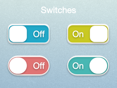 Off/On Switches