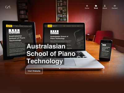Responsive web design mockup responsive iphone macbook piano folio portfolio rwd