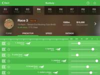 iPad Horse Racing App