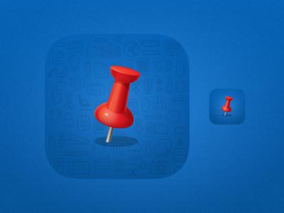 Officeworks App Icon ios ios8 ios7 iphone icon icon design officeworks app icon