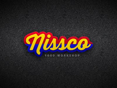 Nissco Logo logo logo design logos nissco automotive asphalt texture gradients motorsport