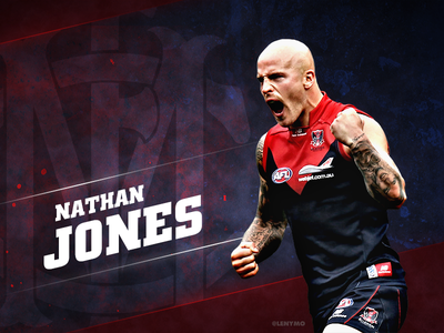 Nathan Jones melbourne demons mfc wallpaper photoshop