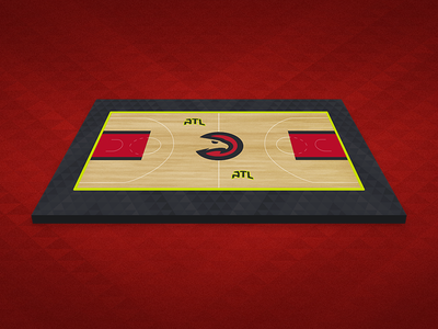 Atlanta Hawks Court Mockup sports sport basketball granite atl hawks atlanta hawks atlanta nba