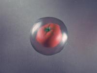 Frozen tomato