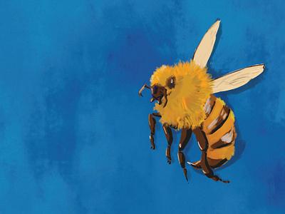 Just a bee draw digital draw digital illustration illustration