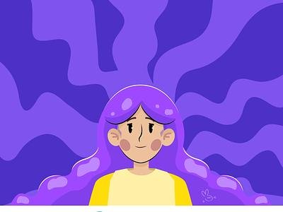 Mental health vector art vector character mental health awareness mental health health woman character vector illustration digital illustration illustration