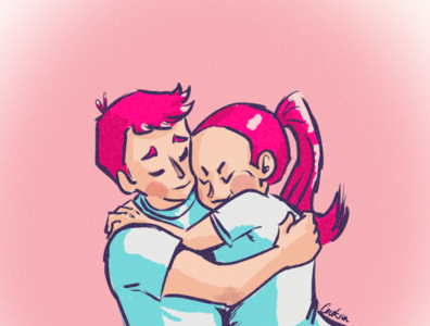 Couple Hug - benefits of hugs