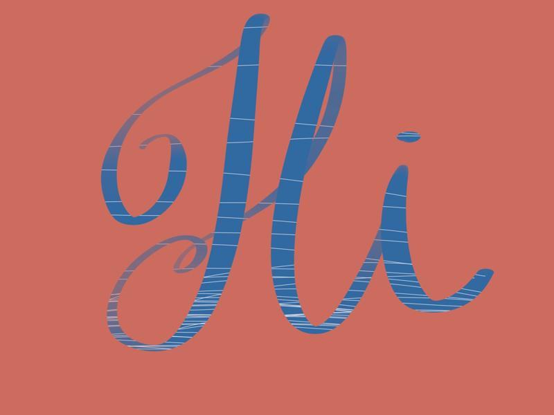 Greetings! hi greetings hello logo