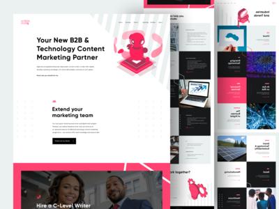 Scribble Studio — Website Design