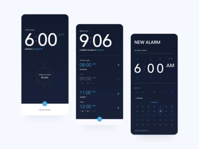 Alarm Clock — App Design
