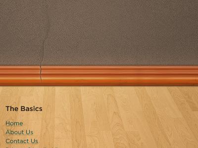Re Frame Footer wood flooring texture lighting footer