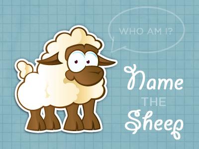Sheep icon animal illustration