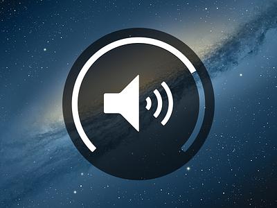 Volume Concept volume adjust psd incrementer icon circle round
