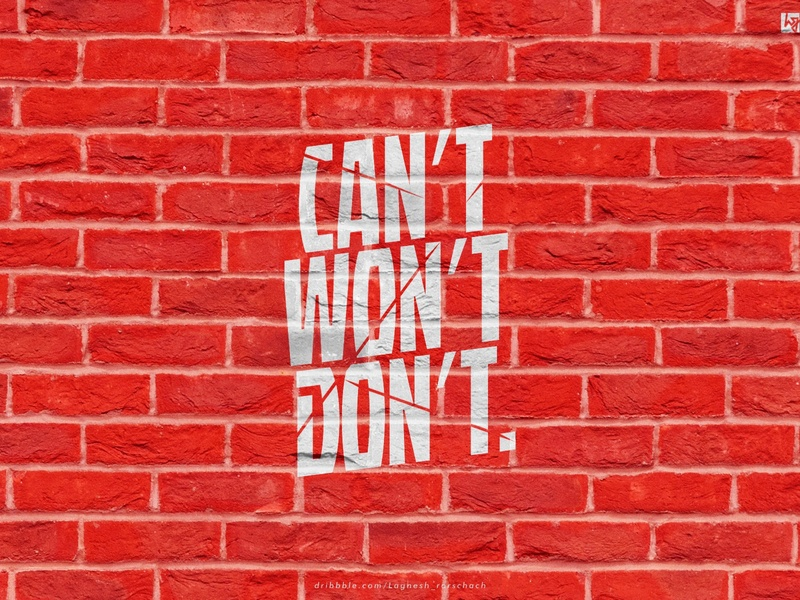 #cant_wont_dont