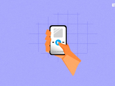 #playit play musicapp music song blue smartphone mobile tirupur illustration tamilnadu india vector graphic  design