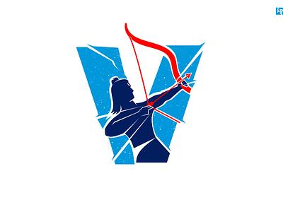 #TheGodofPreservation hello dribbble warrior god vishnu hindu logo print design blue illustration india vector tamilnadu graphic  design