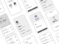 Wallet | wireframe