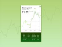 Daily UI Challenge 018 - Analytics Chart