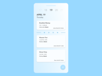 Daily UI Challenge 078 - Itinerary